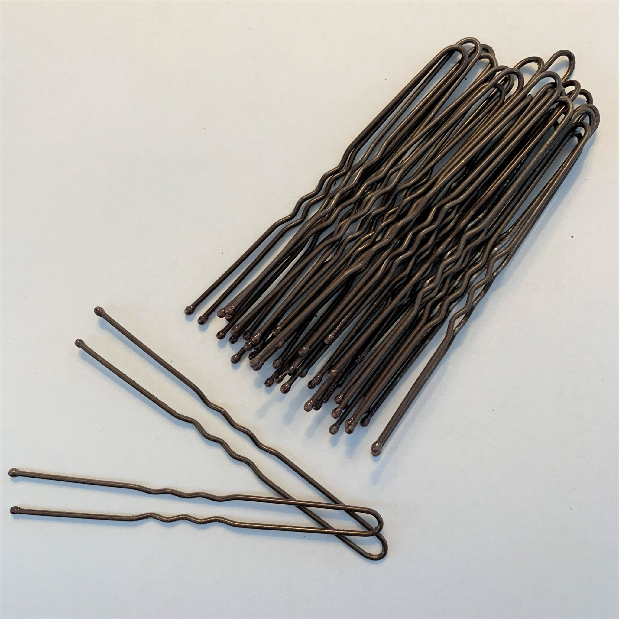 "Be A Star Brown 3"" Hairpins 25 pack"