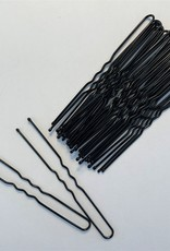 """Be A Star Black 3"""" Hairpins 25 pack"""