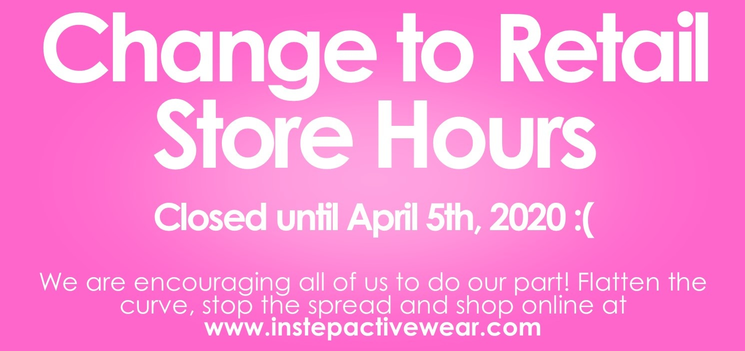 Retail Store Hours Update as of March 17, 2020