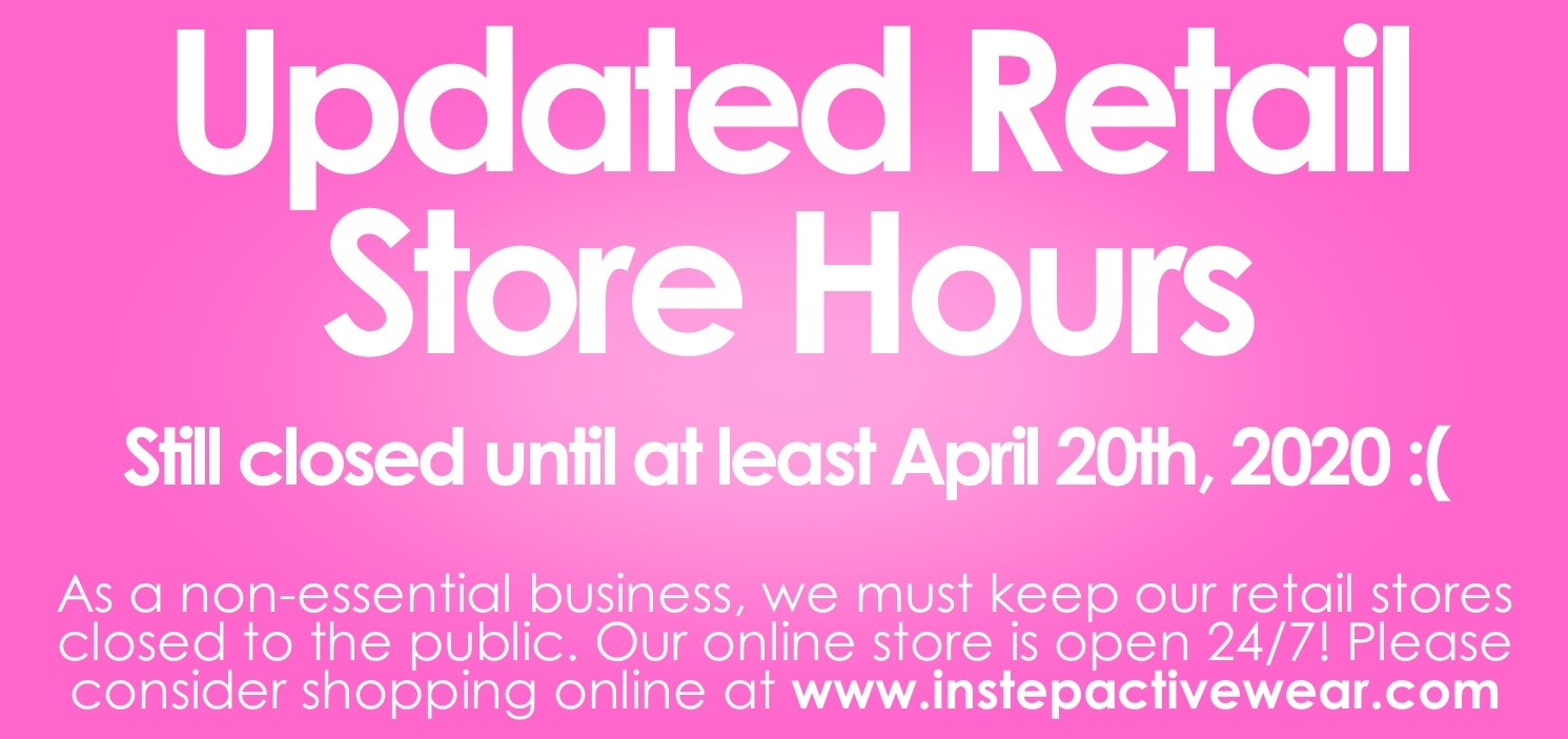 Updated Retail Store Hours April 6th 2020