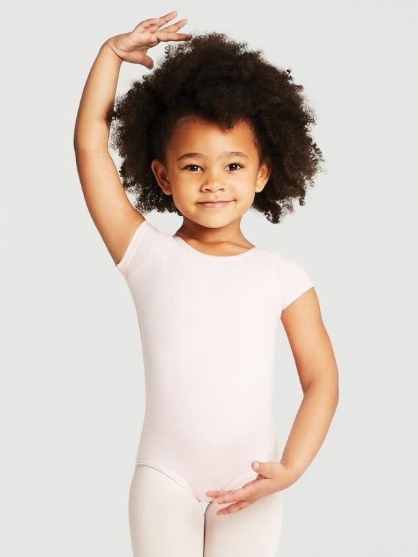 Capezio CC400C Short Sleeve Cotton Leotard for Children