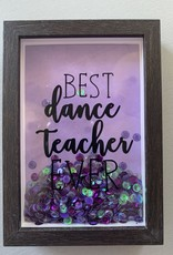 Knotted & Twisted Dance Teacher Shadow Box