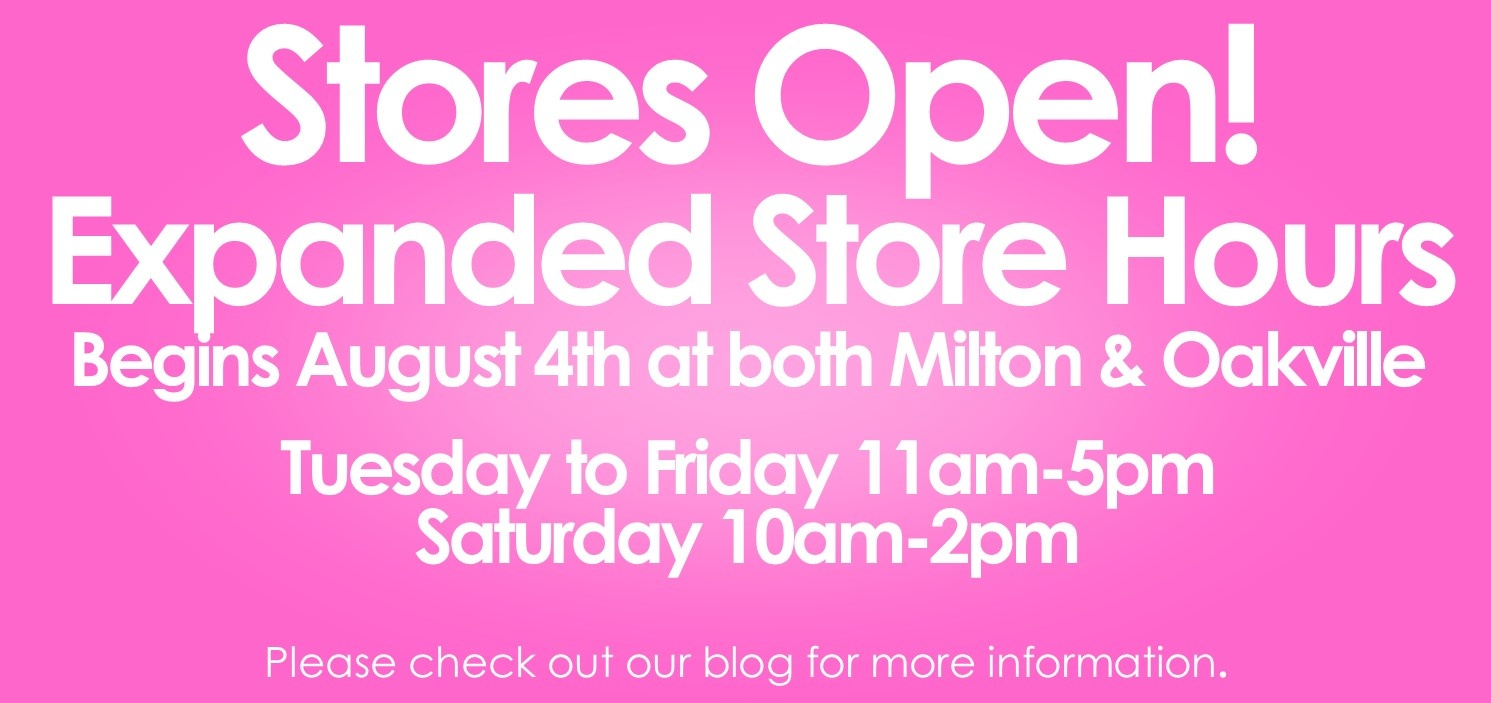 Expanded Store Hours August 2020