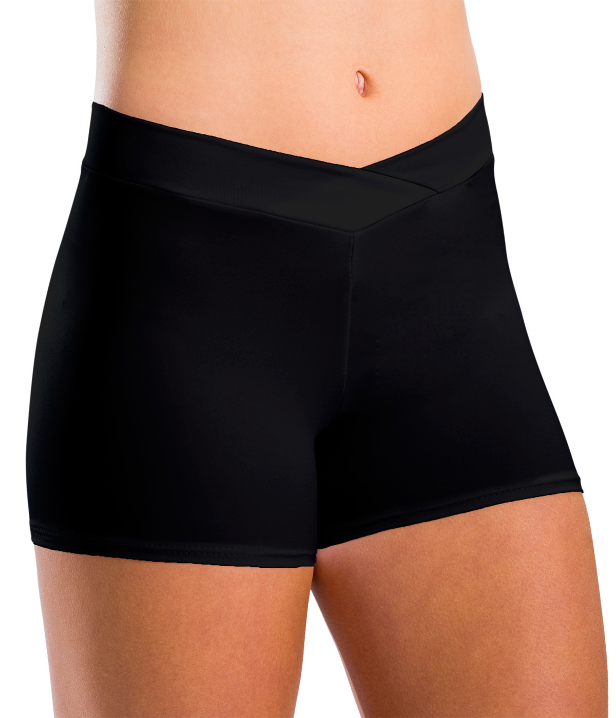 Motionwear 7113 V-waist Dance Short for Adults