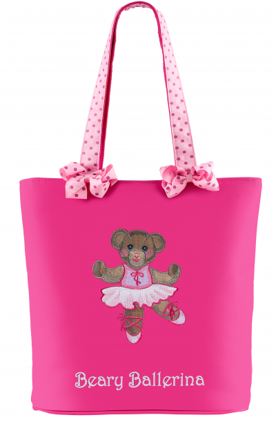Sassi Bags BBR-01 Beary Ballerina Tote Bag