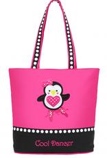 Sassi Bags PEN-01 Dancing Penguin Tote Bag