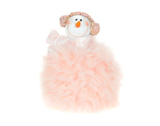 Christmas Tradition D8373 Snowman in pink tutu