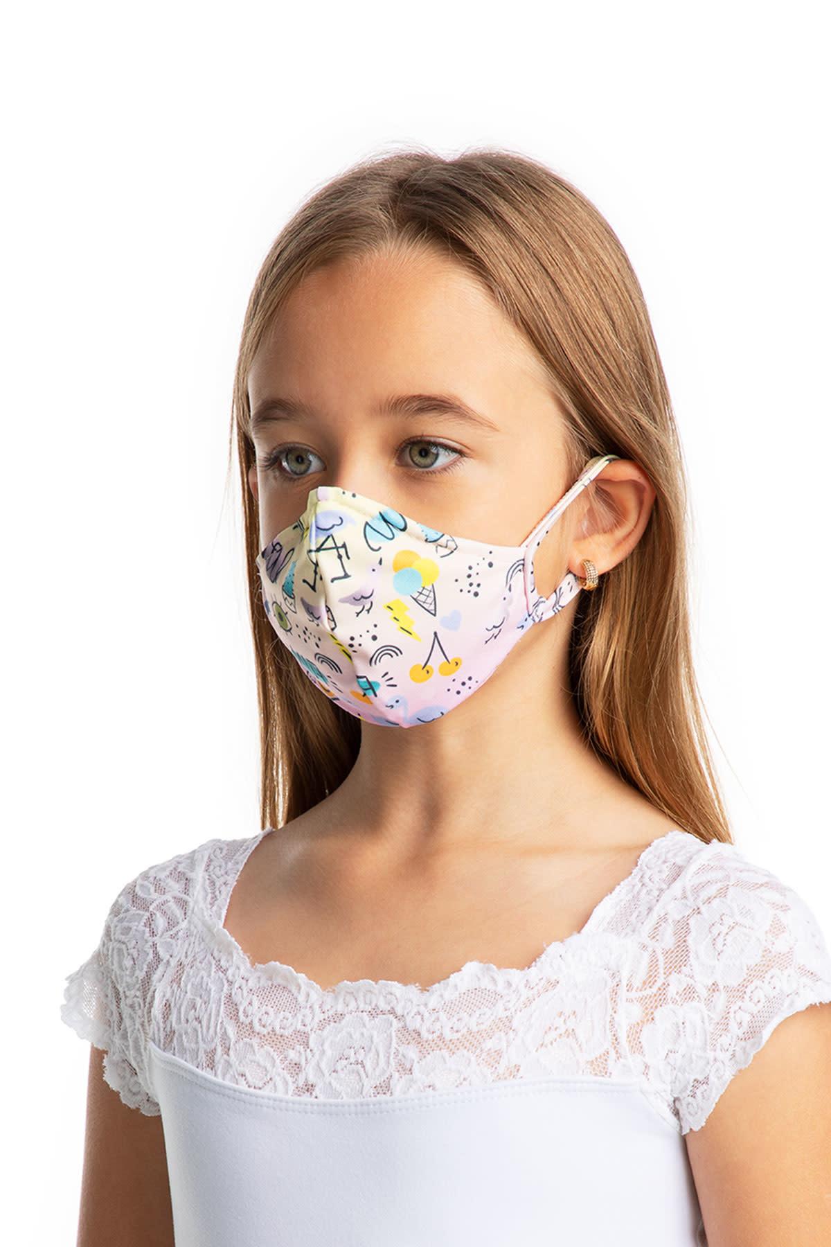 So Danca L2177 Child Print Mask