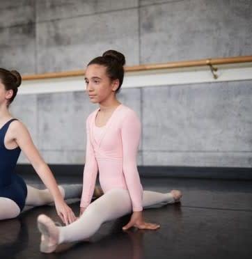 Mondor 1642 Ballet Wrap Sweater for Girls