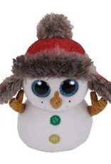 Ty Buttons Snowman Beanie Boo Regular