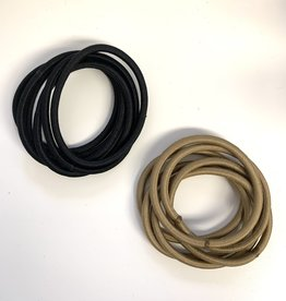 FH2 Hair Elastics Black