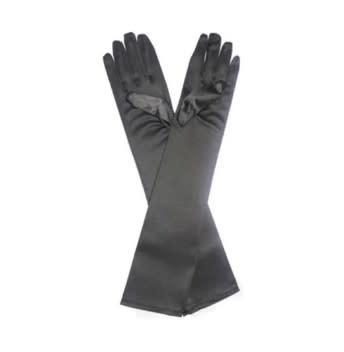 FH2 -GL0050 Black Long Adult Gloves