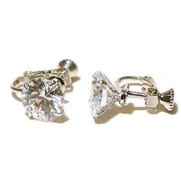 FH2 AZ0017-1 Crystal Earrings Clip-on