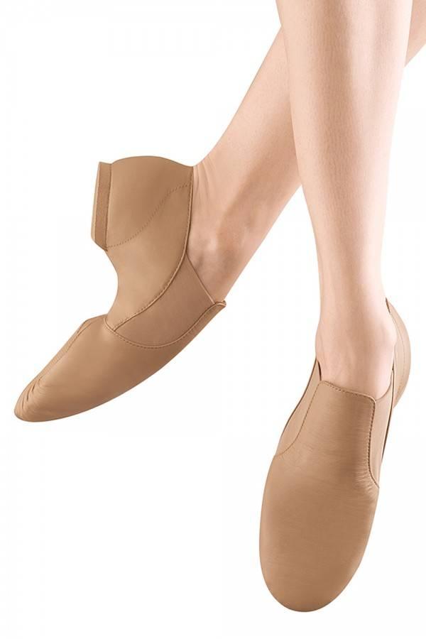 Bloch SO499G Elasta Bootie Jazz Shoe for Children