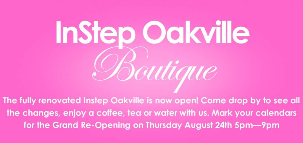 Instep Oakville Boutique Renovation Summer 2017