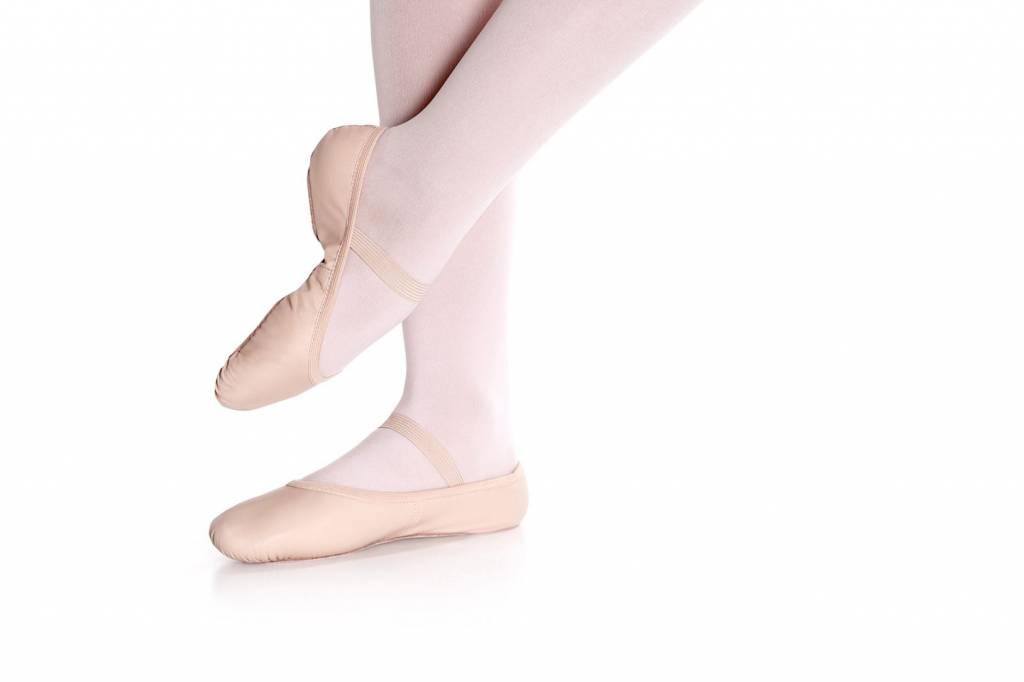 So Danca SD55S Leather Ballet shoe for Children
