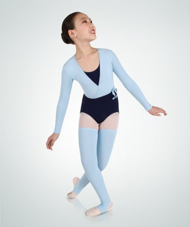 Body Wrappers 3201 Ballet Wrap Sweater for Children