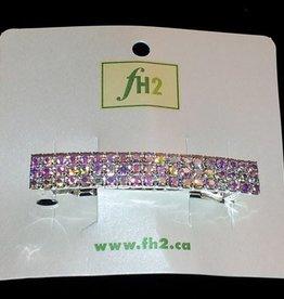 FH2 AY0019-1 3 Row AB Hair Clip