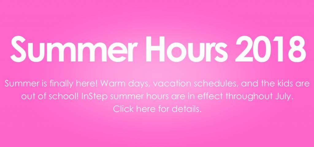 Summer Hours 2018