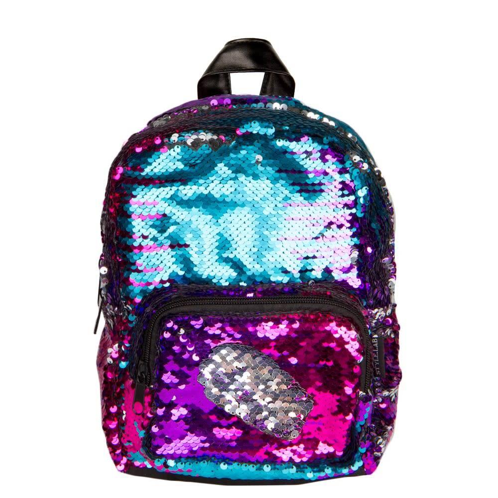 Fashion Angels Rainbow Mini Magic Sequin Backpack