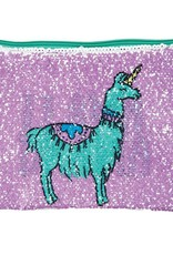 Fashion Angels Llama Drama Magic Sequin Zip Pouch