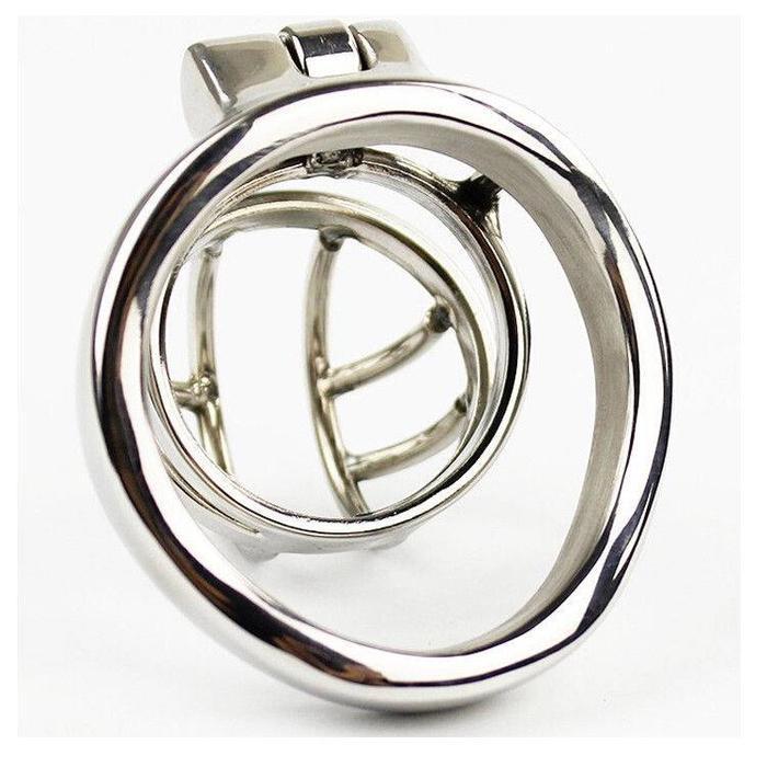Steel Chastity Round Cage
