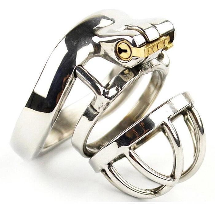 Steel Chastity Round Cage