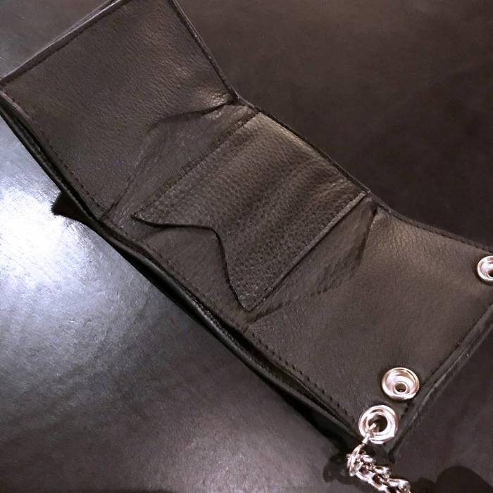 Trifold Chain Wallet