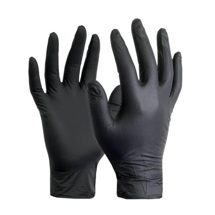 Gloves, Black Dragon, Nitrile