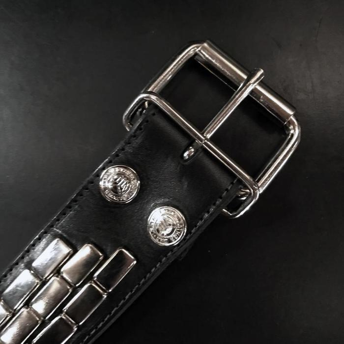 Brick 3Row Studded Belt