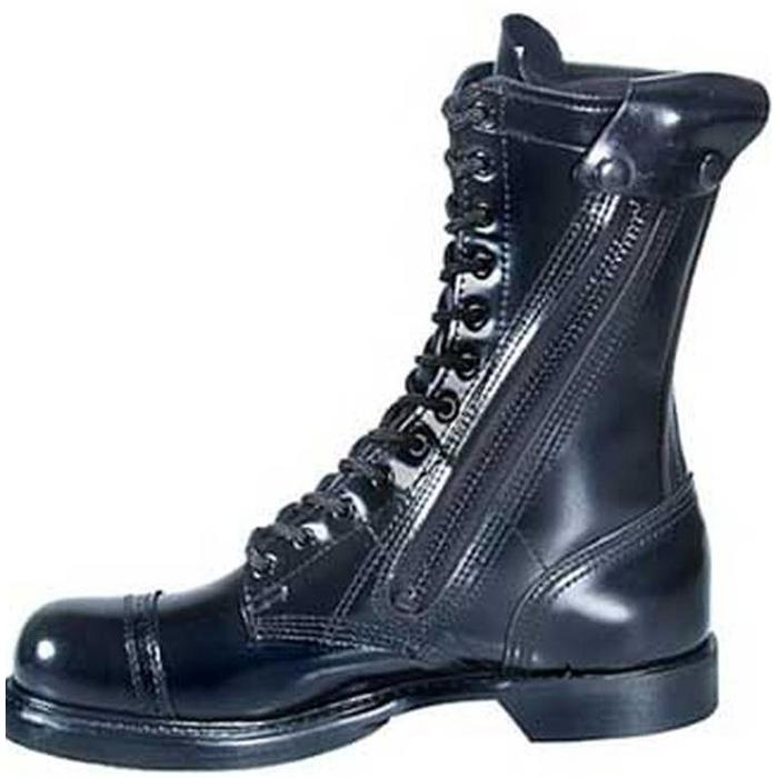 Boots, Combat, Zipper Side