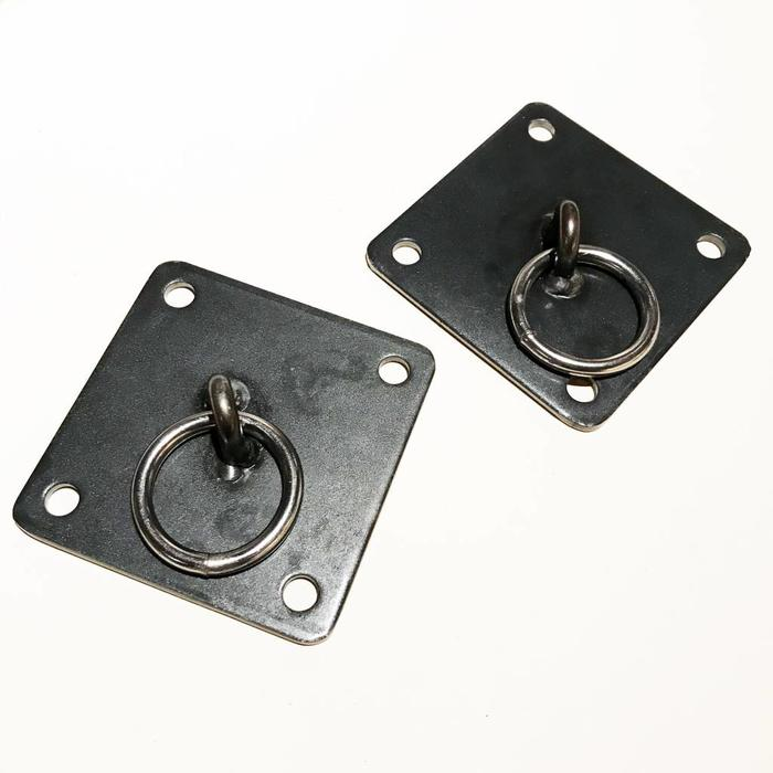 Steel, Wall Mounts, pair, 1 size