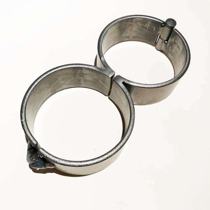 "Steel, Manacles, figure 8, 11"", 1 size"