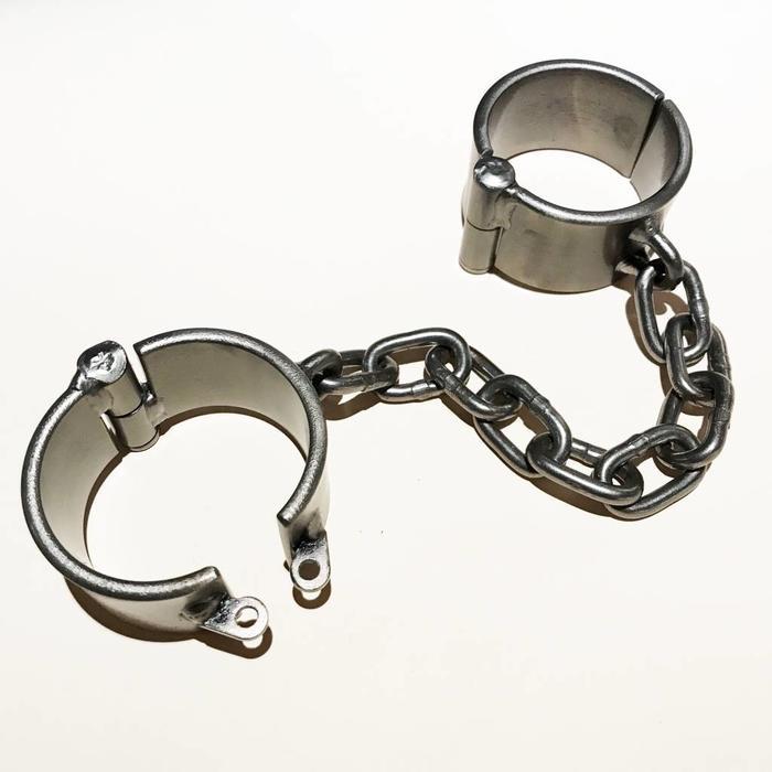 Steel, Shackles, Wrist, 1-1/2