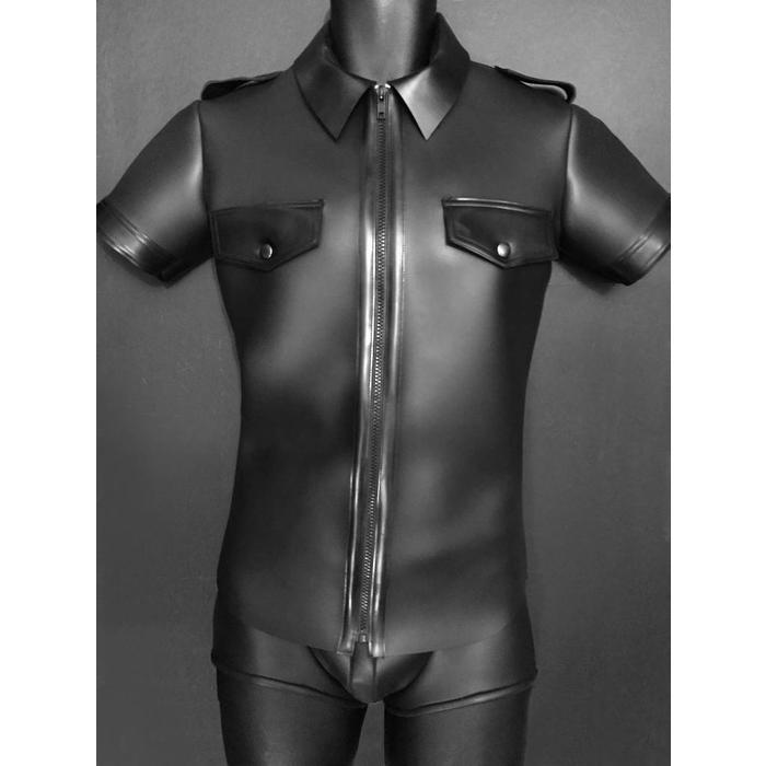 Neoprene, Shirt, Police with Rubber Trim