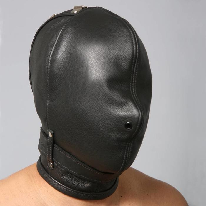 Hood, Full, Nose Holes Only with Collar, 08