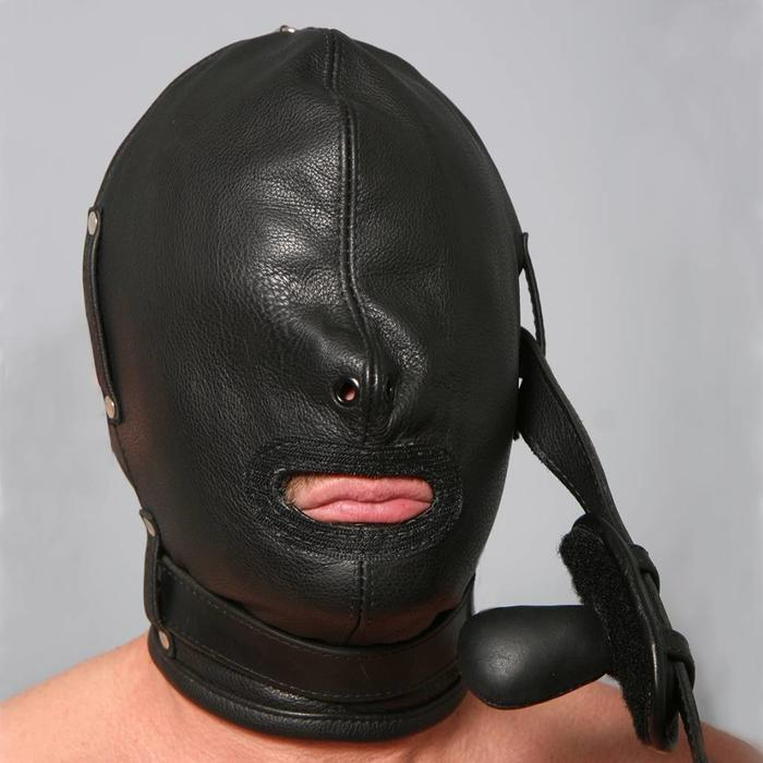 Hood, Full, Gag Only, Collar, No Velcro, 16A