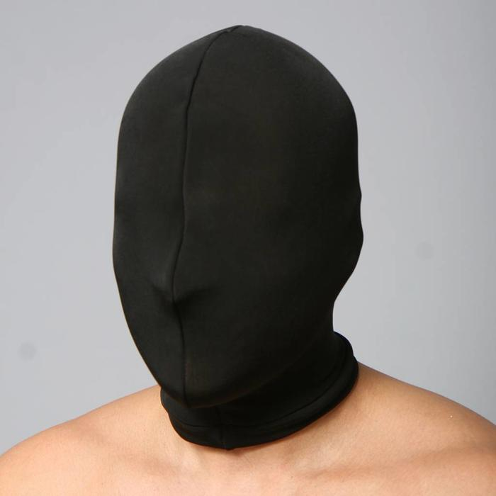 Hood, spandex, plain, double thickness