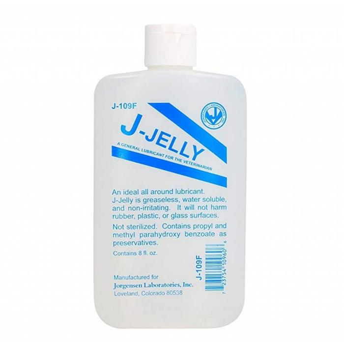 Lube, J-jelly, 8 oz.