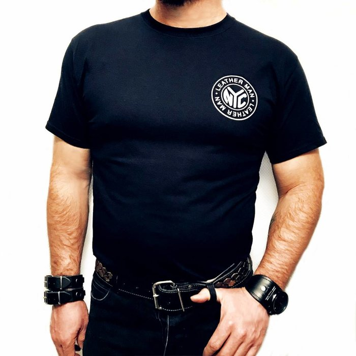 Leather Man Logo Tee Shirt