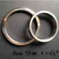 Gear Essentials, Glans Ring, Titan,.2