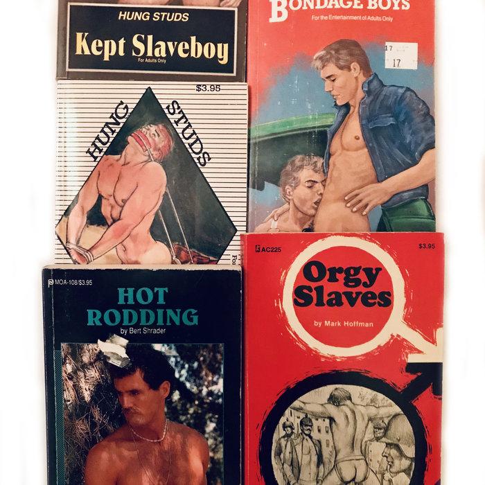 Vintage Gay Pulp Fiction Novels