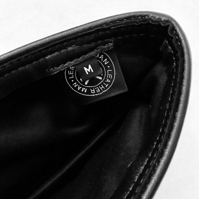 Garrison, Pisscutter, Leather Cap