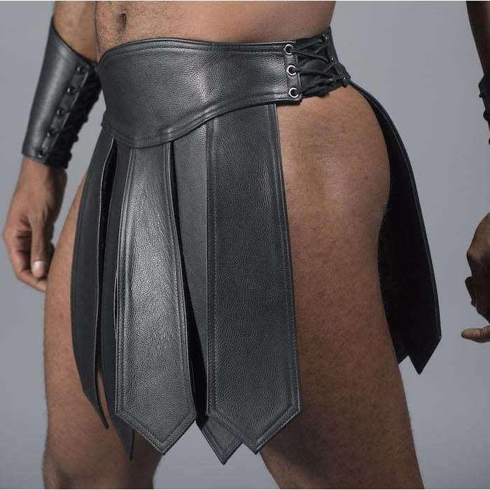 Gladiator Skirt, 5 Panel