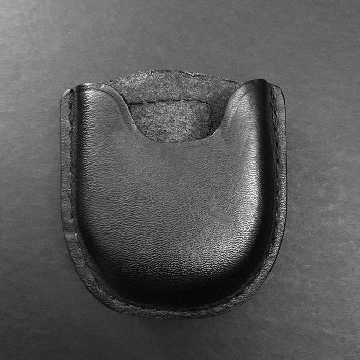 Handcuff case, open top, molded