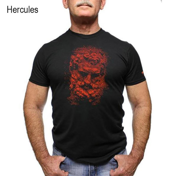 Chris Lopez, T-Shirt, Hercules
