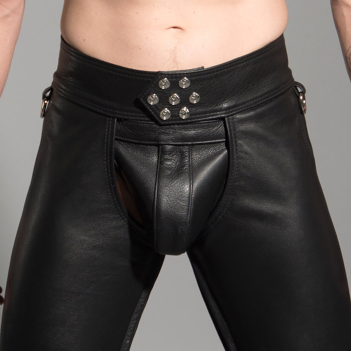 Chaps, 7-snap, D-rings