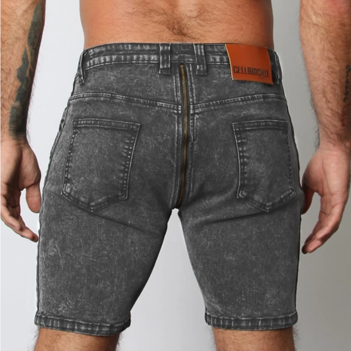 Cellblock, Axis Denim short, blk