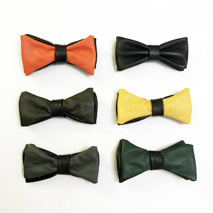 Bowtie, Leather