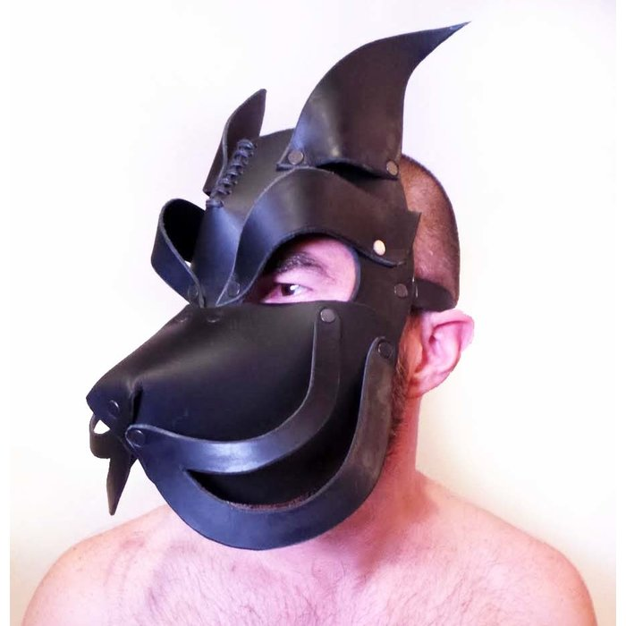 Mask, Puppy, Howler Blk 1 size